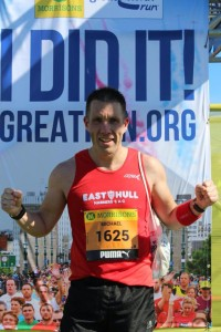 Great North Run - Mike Petersen
