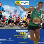 Anthea Eskrett at The Great North Run