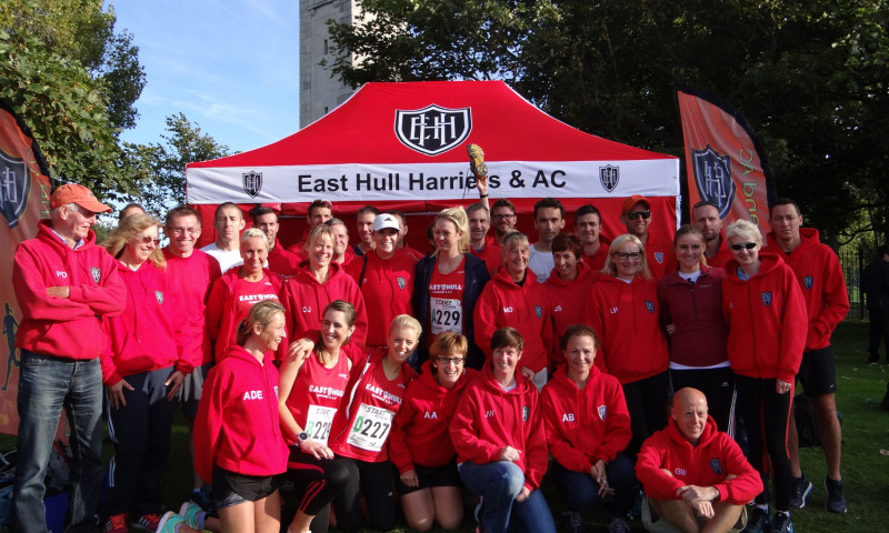 Harriers at Northern 6 stage / 4 Stage Relays - Blackpool