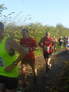 Chris Sumpton and Gary Fee Enjoying The First Uphill Section