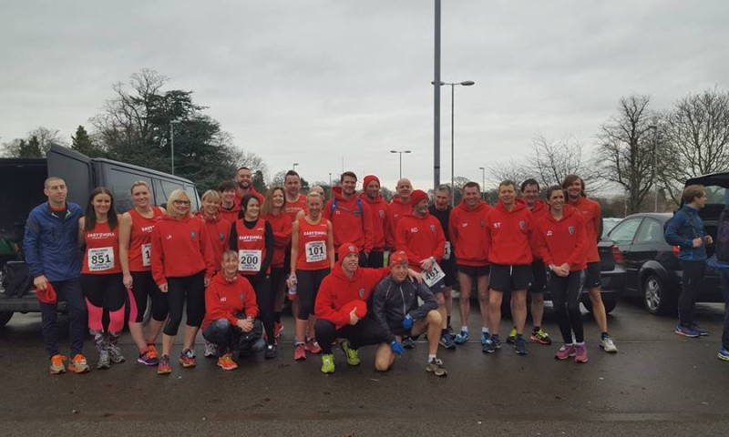 Some of the Ferriby 10 Runners