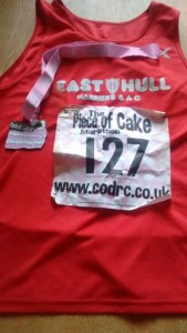 Medal and Harriers Shirt