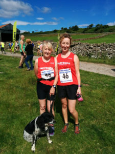 James Herriot 14k Trail Run - Shirley Oglesby and Laura Cropper