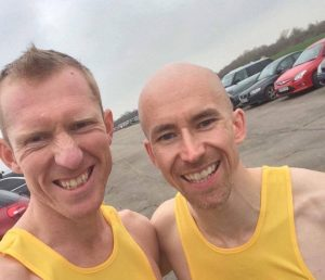 Inter-Counties Championships - Rob Weekes and Richey Buckle