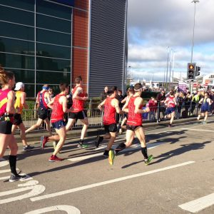 Manchester Marathon - Awesome Foursome