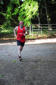 Wold Way Relay - Keith Conkerton
