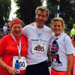 Mary Carrick, Frank Harrison and Tracey