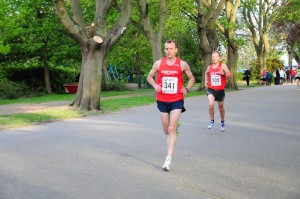 Mike Hargreaves - 1st place in 20:42