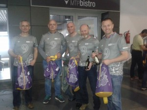 With our impressive goody bags pre-race