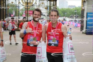 Tony Cross and Mike Petersen - Vitality 10k 2016