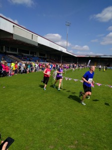 Katy White finishing North Lincolnshire Half