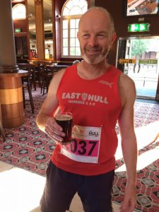 Keith Conkerton - pre Hull marathon carb loading