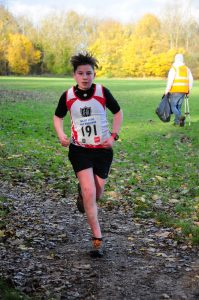 Oliver Burnett @ EHH Winter League 2 – Cross Country 3m